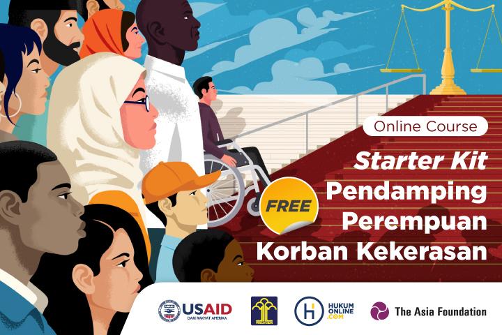 Starter Kit Pendamping Perempuan Korban Kekerasan